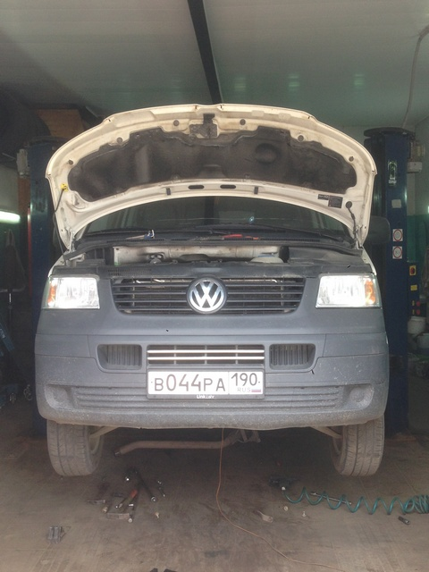 VW-T5-1.9TDI-86hp Чип-тюнинг Volkswagen T5. Удаление сажевого фильтра. Отчет.