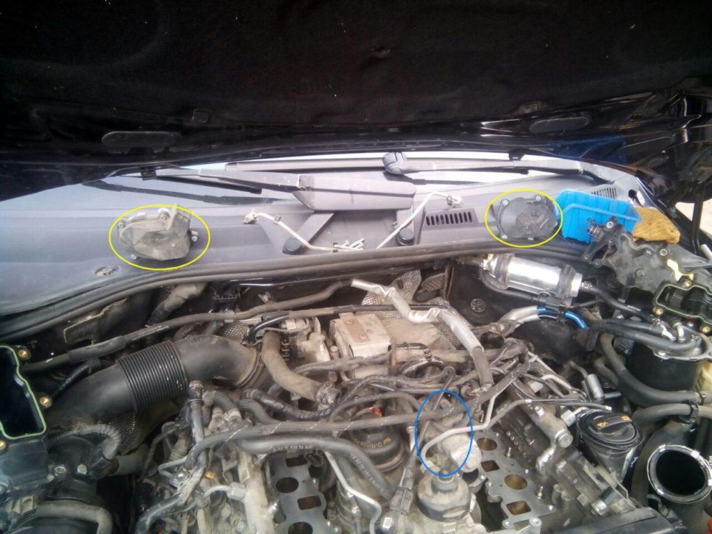 IMG_4632-1024x768 Отключение клапана ЕГР, отключение удаление вихревых заслонок, увеличение мощности Volkswagen Touareg 3.0 TDI