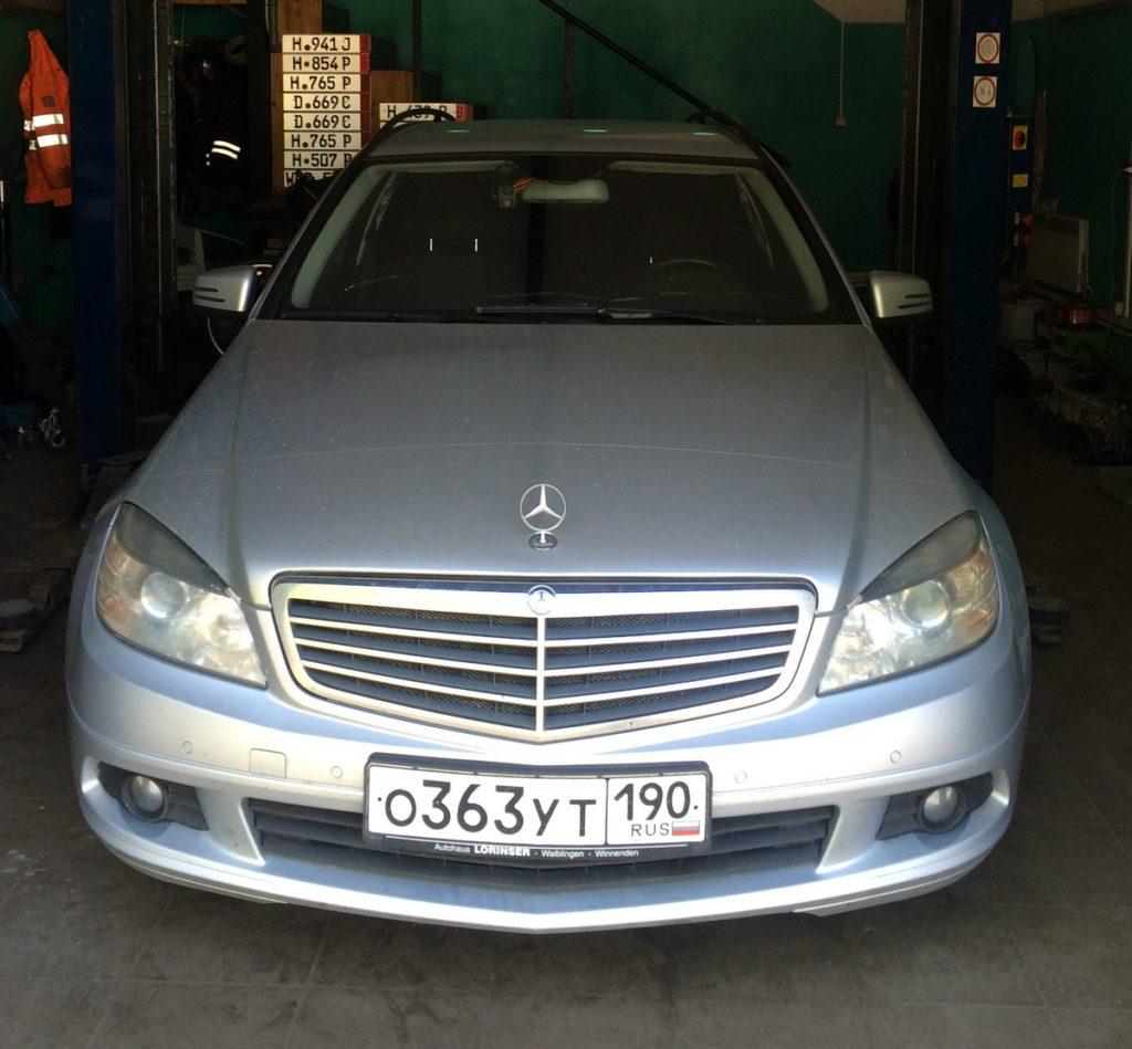 Mercedes-Benz-w204-1024x949 Удаление сажевого фильтра и клапана ЕГР в Mercedes Benz W204 C200 CDI