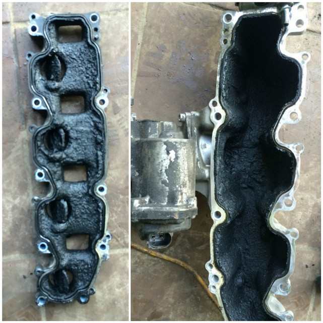 2 Удаление сажевого фильтра, клапана ЕГР и вихревых заслонок на Volkswagen Passat b6 2.0TDI