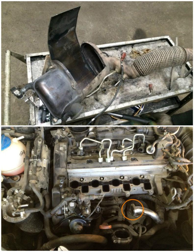 3-791x1024 Удаление сажевого фильтра, клапана ЕГР и вихревых заслонок на Volkswagen Passat b6 2.0TDI