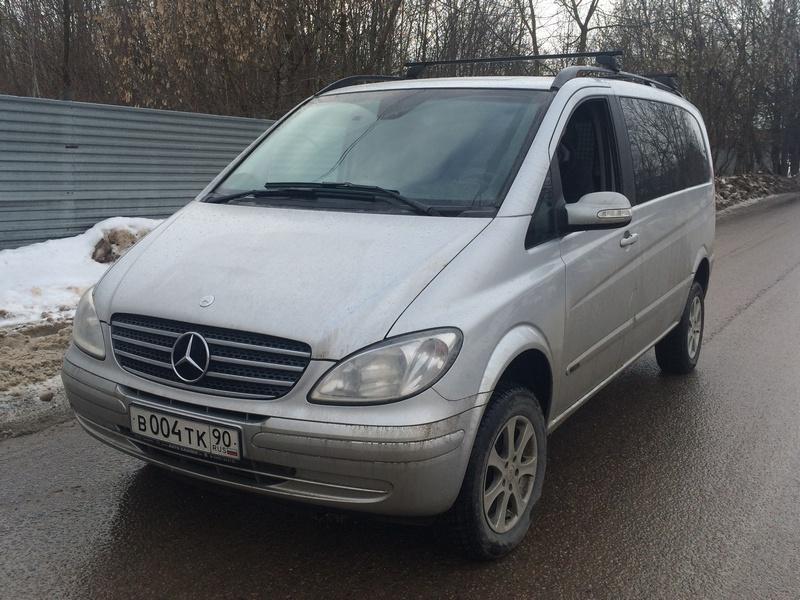 IMG_6225 Удаление сажевого фильтра Mercedes-Benz Viano 3.0 CDI (W639)