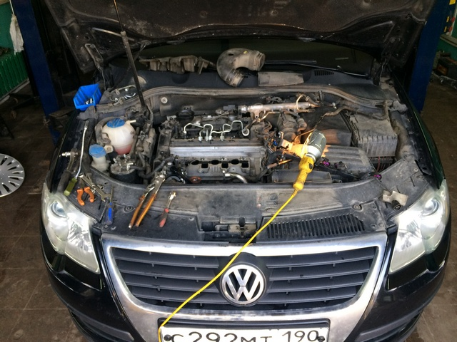 IMG_6417 Удаление сажевого фильтра, клапана ЕГР и вихревых заслонок на Volkswagen Passat b6 2.0TDI