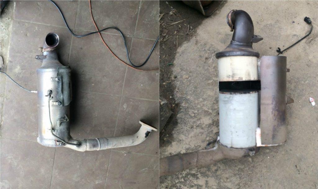 -фильтр-volvo-Клин-1024x608 Удаление сажевого фильтра и клапана ЕГР на VOLVO V50 1.6 TDI