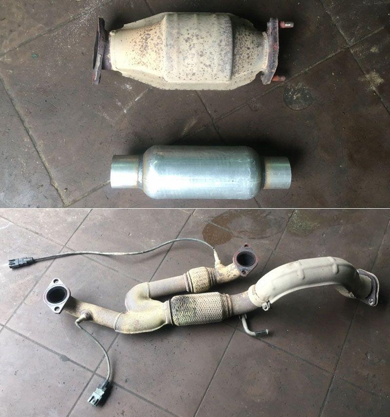 Hyundai-Grandeur-3.3-удаление-катализатора-в-городе-Клин Чип-тюнинг Hyundai Grandeur 3.3 удаление катализаторов