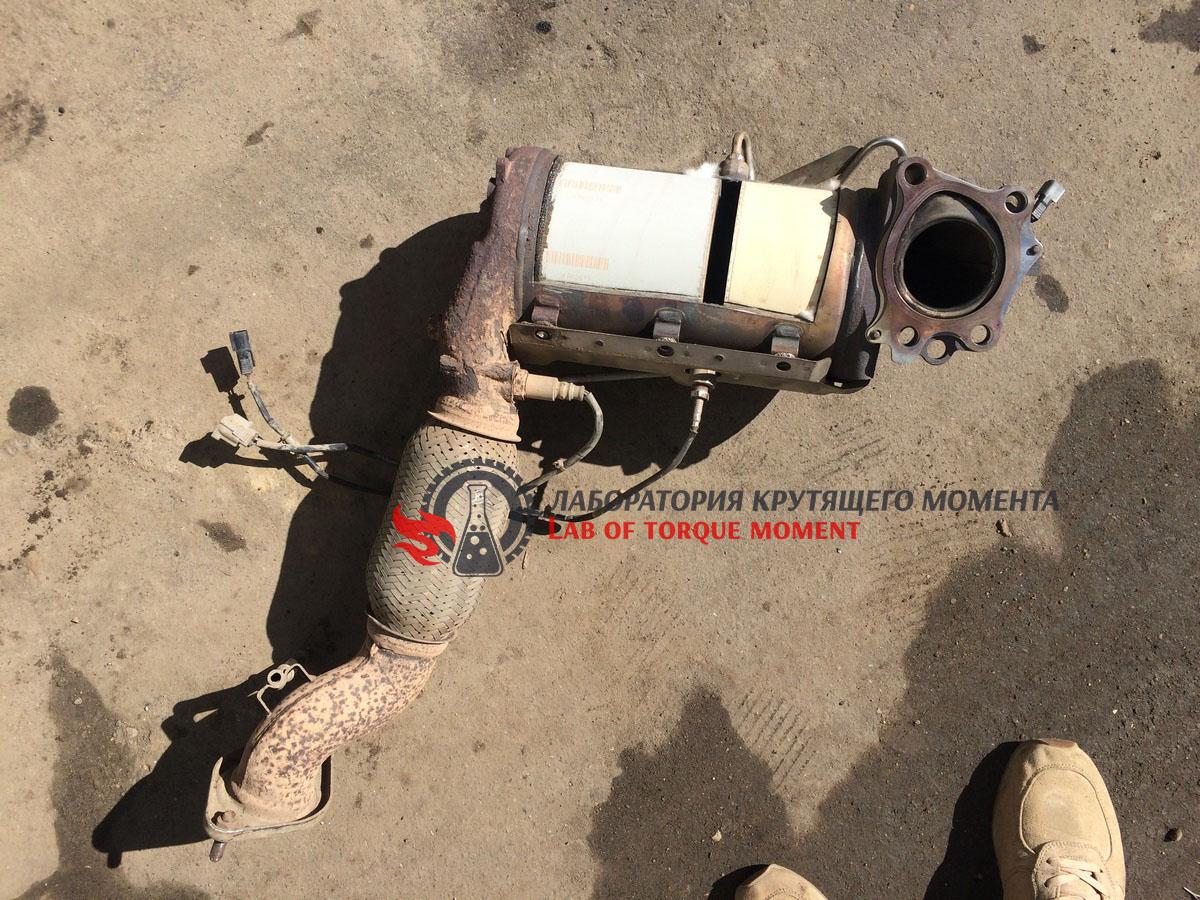 Замена патрубка радиатора фиат