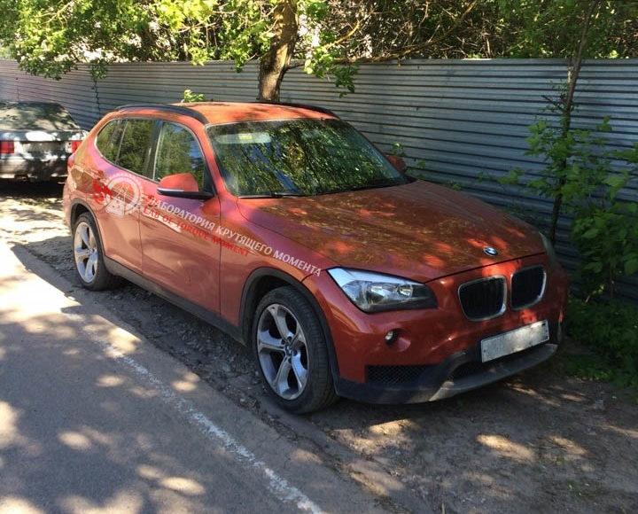 1-720x580 Удаление катализатора на BMW X1 E84 sDrive 1.8i/2.0i 150 л.с в городе Клин.