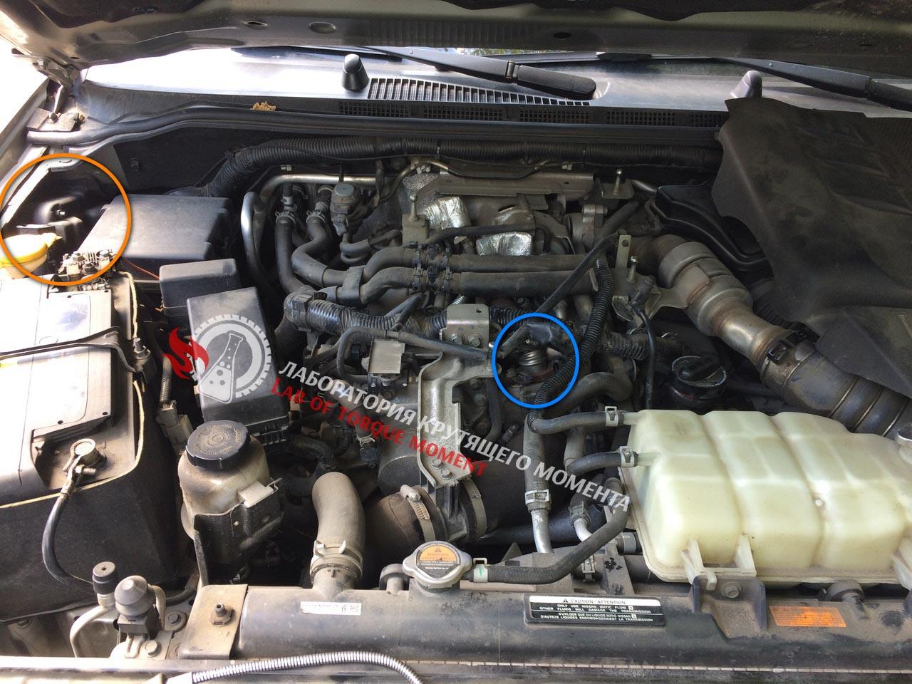P0488 Toyota Land Cruiser – Idée Auto Images