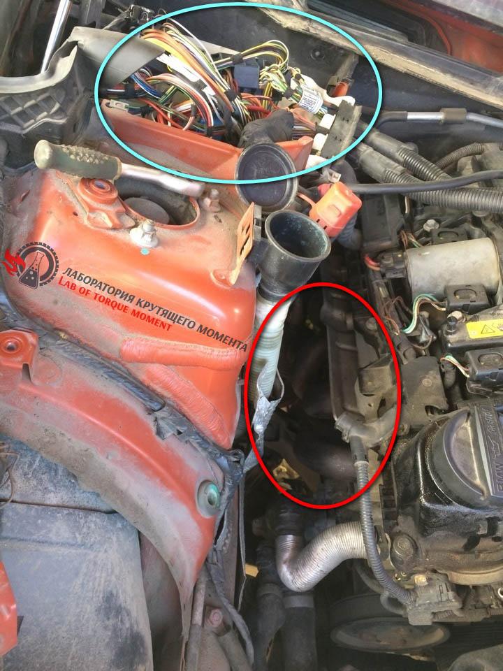 2.1 Удаление катализатора на BMW X1 E84 sDrive 1.8i/2.0i 150 л.с в городе Клин.