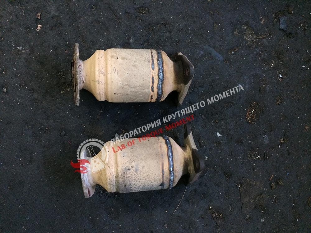 4 Удаление катализаторов на Lexus GS 430 и прошивка на евро2